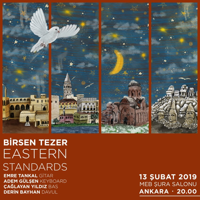 Birsen Tezer Eastern Standards Ankarada