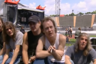 AC/DC interview live in germany
