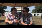 Athlete Backstage Interview at V Festival