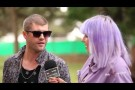 Daniel Merriweather (Melbourne) - Interview at Homebake 2012