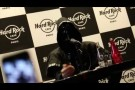 Ghost B.C. Press Conference / Interview with Lead Guitarist - Hard Rock Café Paris !