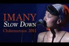 Imany - Slow Down - Live Full Band à Châteauroux (17/08/11)