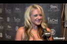 Leah Turner backstage at the ACM Awards 2014