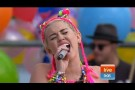 Miley Cyrus - Wrecking Ball (Live on Sunrise)