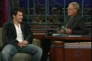 Nick Lachey on Letterman