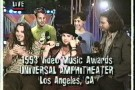 1993 VMAs Post Show Interview with Pearl Jam