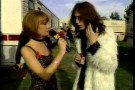 Black Crowes - Chris Robinson talks to Tabitha Soren before the 1992 VMA Show