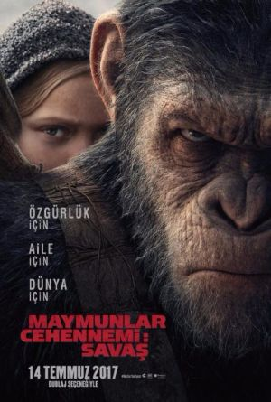 Maymunlar Cehennemi 3: Savaş - War for the Planet of the Apes